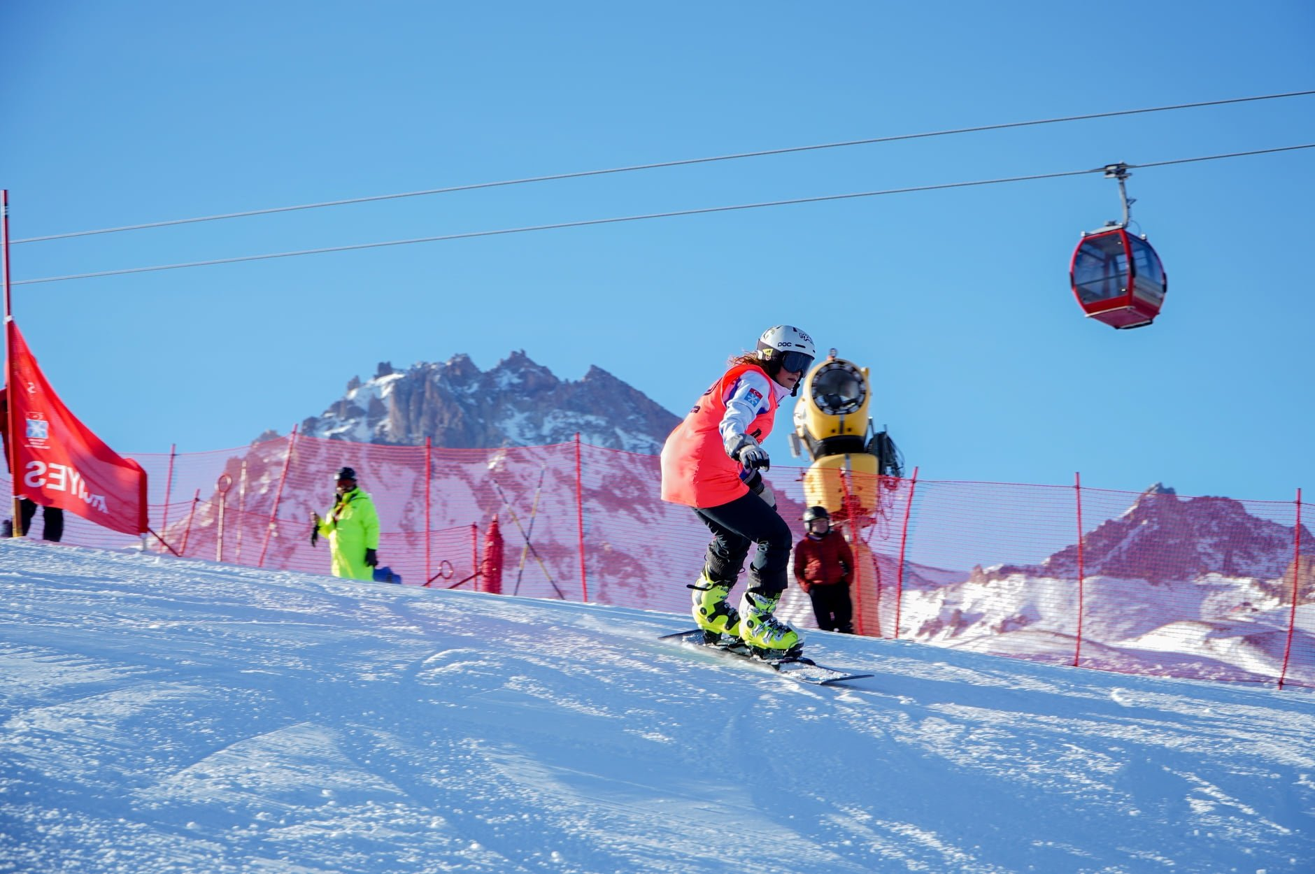 Erciyes Ski Resort was one of the top five destinations among 30 entries from Turkey, Jan. 13, 2021. (AA Photo)