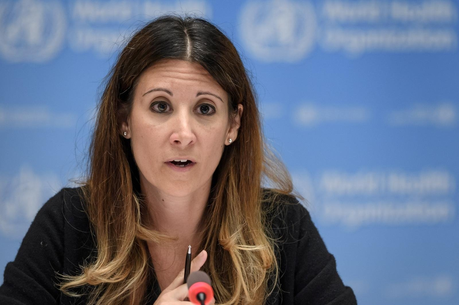 WHO technical lead for COVID-19, Maria Van Kerkhove, attends a news conference at the WHO headquarters in Geneva, Switzerland, July 3, 2020. (Reuters Photo)
