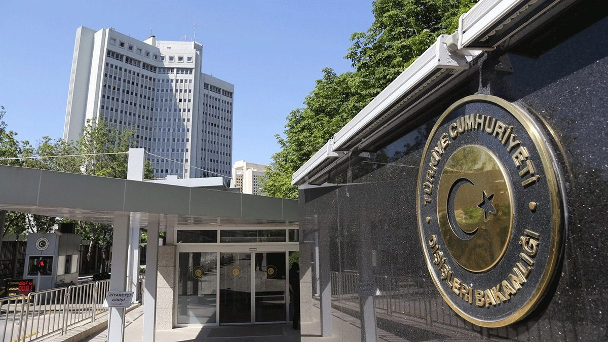 The Foreign Ministry headquarters in Turkey's capital Ankara. (File Photo)