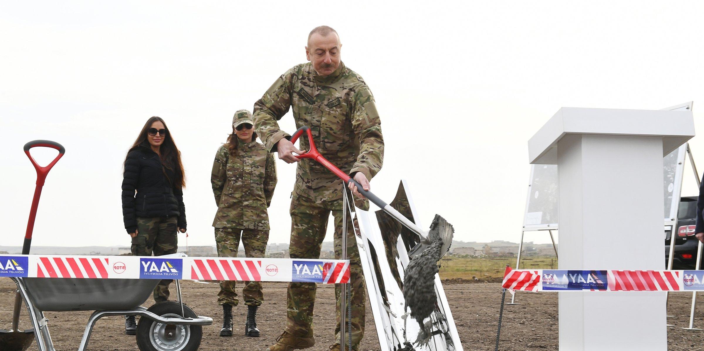 Azerbaijan starts construction of new airport in liberated Karabakh