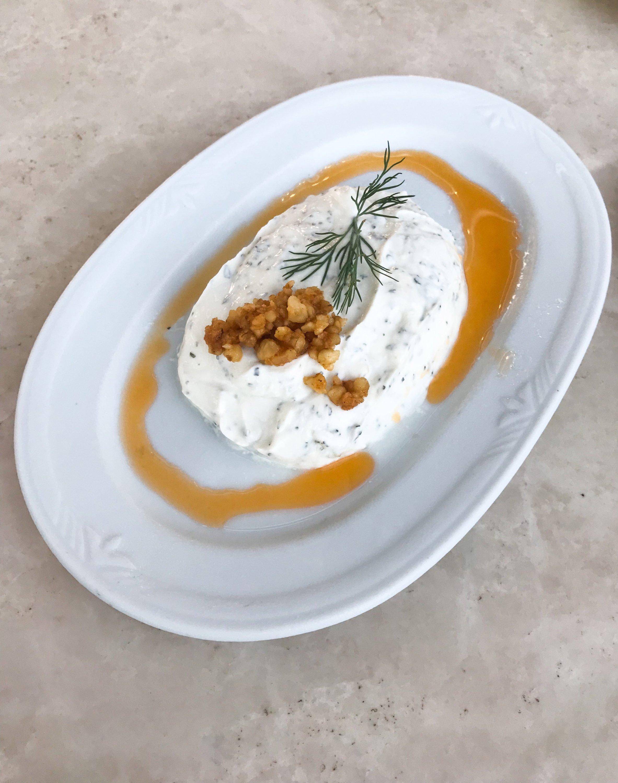 Haydari is a staple meze in Turkish restaurants. (Shutterstock Photo)