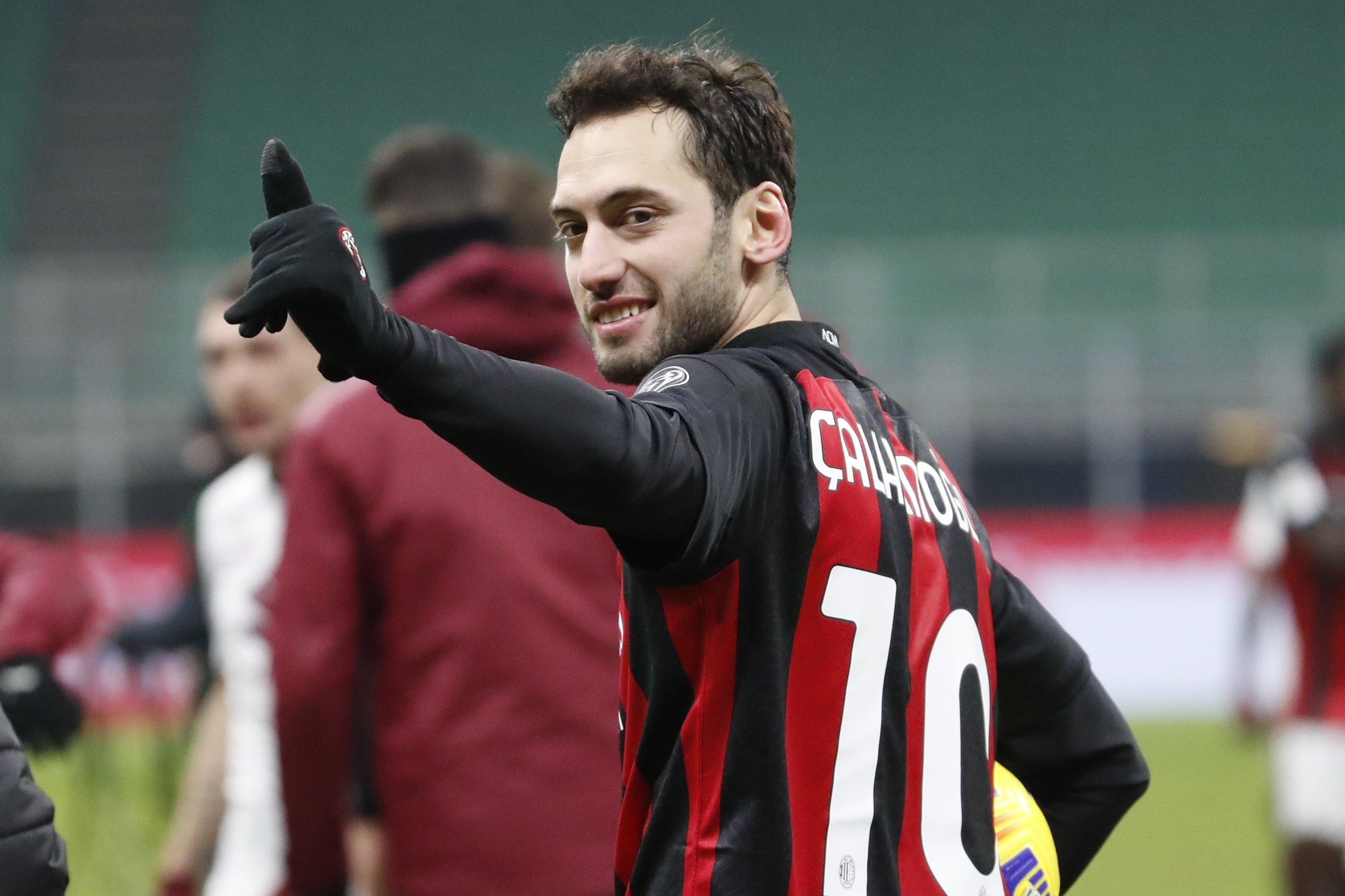 AC Milan's Çalhanoglu, Hernandez test positive for coronavirus | Daily Sabah