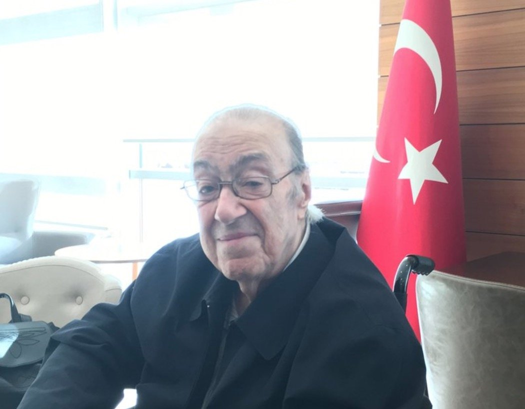 The late Dündar Abdülkerim Osmanoğlu is seen in this undated photo shared by family member Orhan Osmanoğlu on Jan. 19, 2021. (Photo courtesy of Orhan Osmanoğlu / Twitter)
