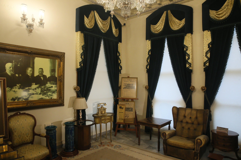 A room inside the Imperial Pavilion in Kocaeli, northwestern Turkey, Jan. 15, 2021. (AA Photo)