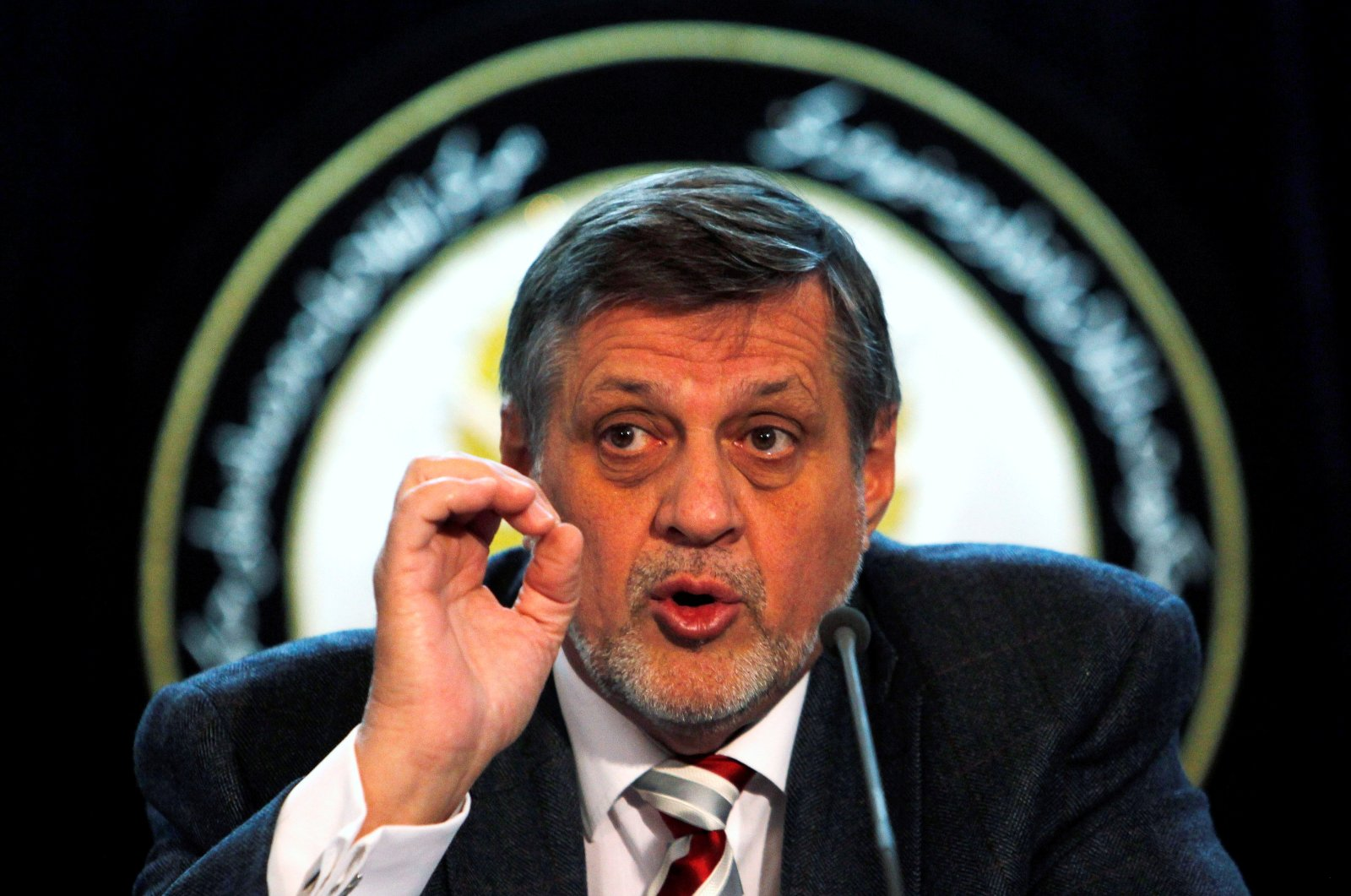 Jan Kubis, the former special representative of the secretary-general and head of the United Nations Assistance Mission in Afghanistan (UNAMA), speaks during a news conference in Kabul, Afghanistan, March 27, 2013. (Reuters File Photo)
