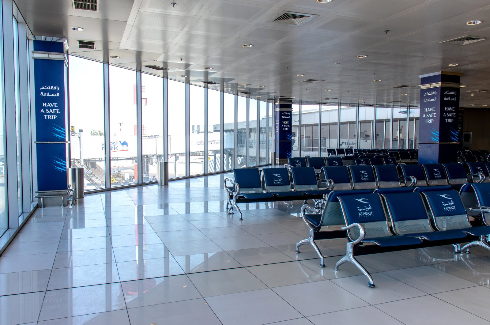 With an approximate $4.5 billion bid, Kuwait International Airport's new terminal construction was the largest tender won abroad in a single package by Turkish contractors. (Shutterstock Photo)