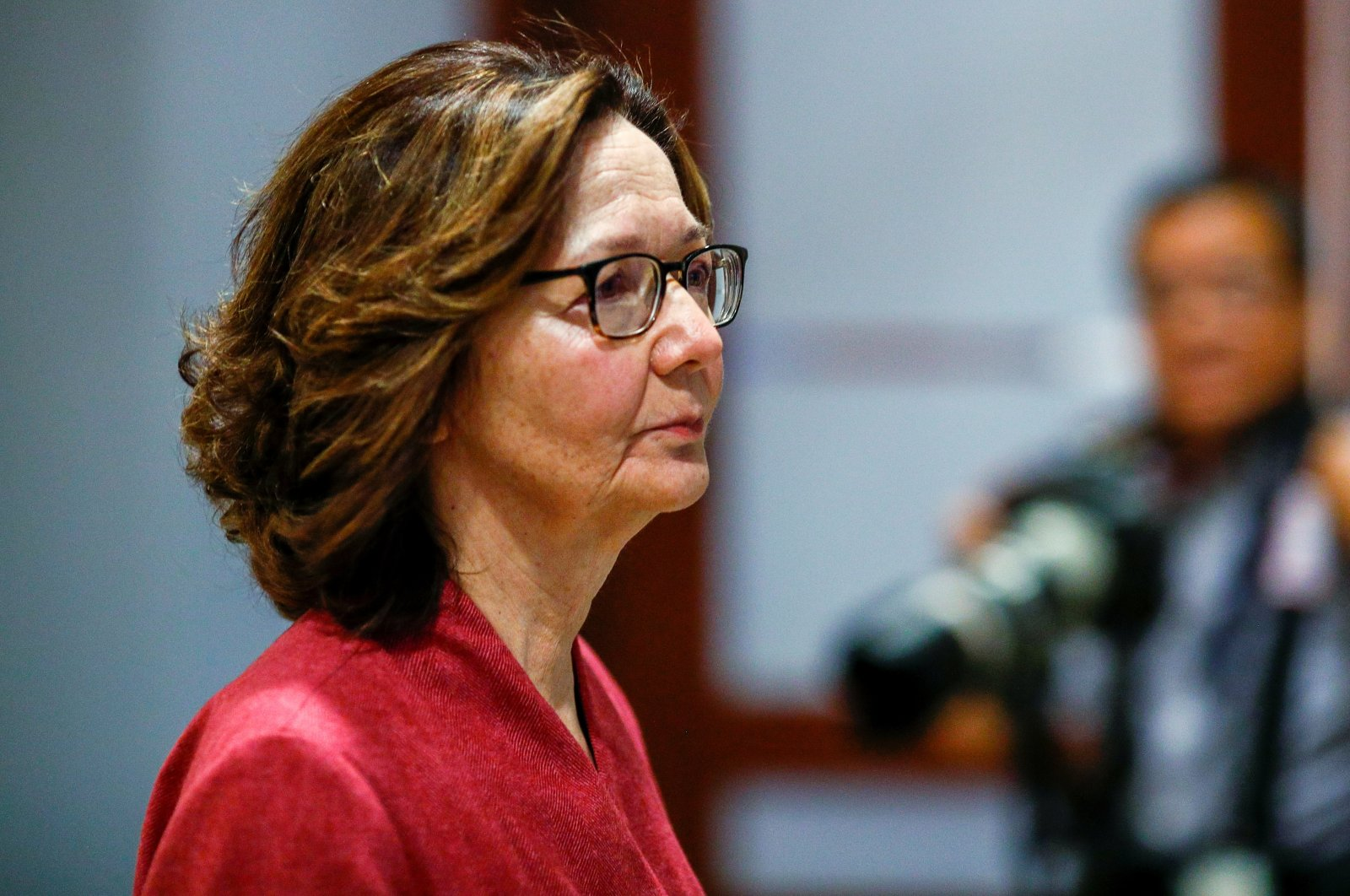 CIA Director Gina Haspel arrives to brief members of the U.S. Senate on developments with Iran after attacks by Iran on U.S. forces in Iraq, at the U.S. Capitol in Washington, D.C., Jan. 8, 2020. (Reuters Photo)