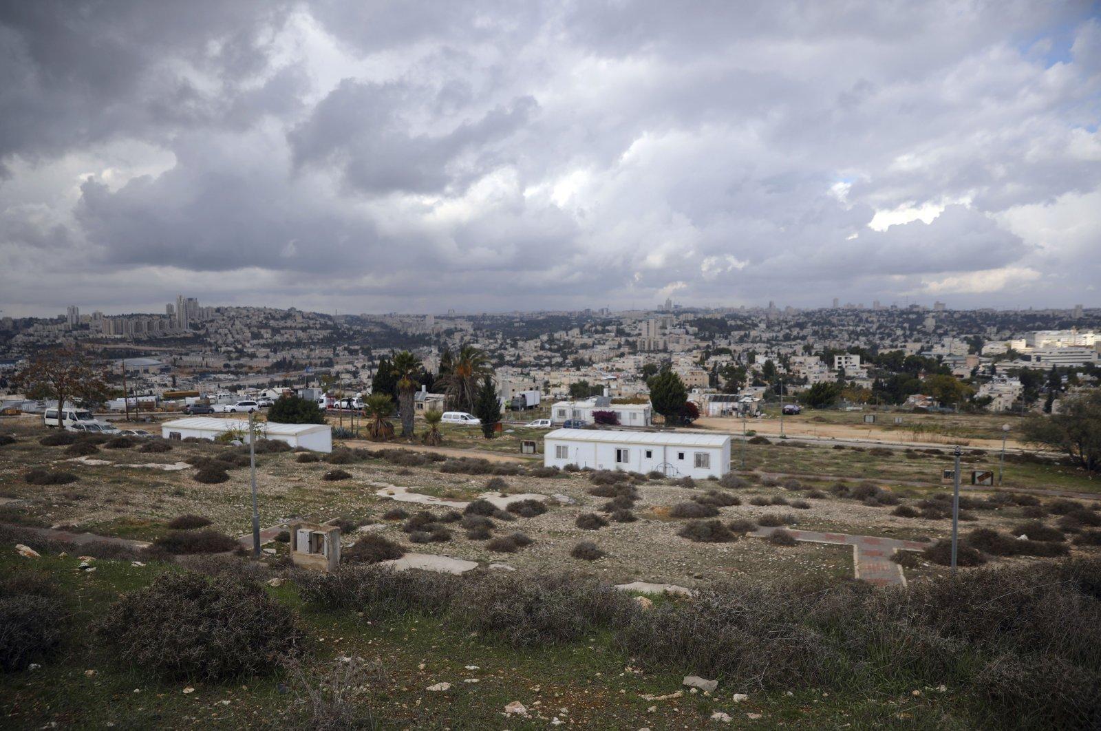 The Givat Hamatos Israeli settlement in East Jerusalem, Nov. 15, 2020. (AP Photo)