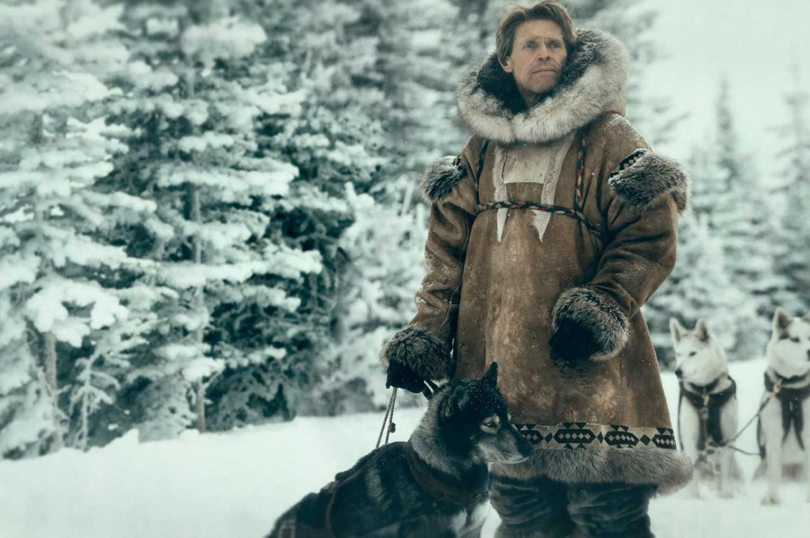 """Actor Willem Dafoe as Leonhard Seppala in a scene from """"Togo."""""""