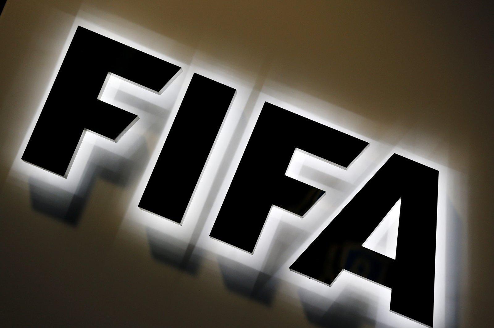 The FIFA logo outside FIFA headquarters in Zurich, Switzerland. (AP Photo)