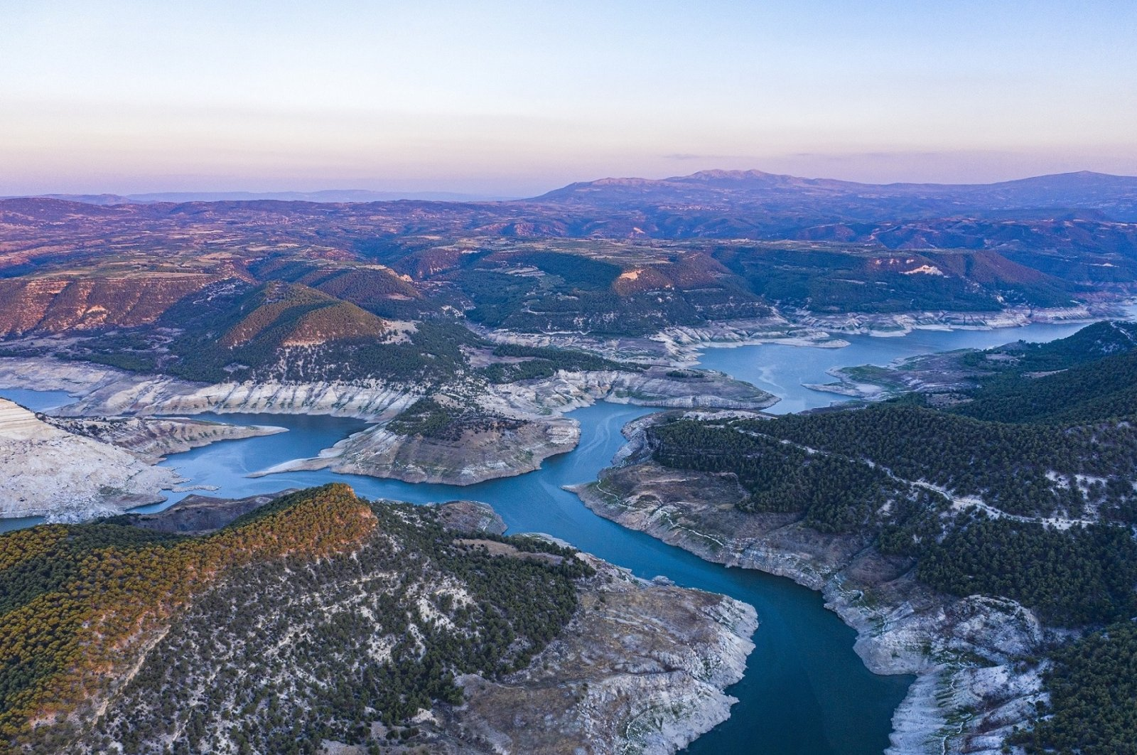 The Meander is Turkey's Eegean region is under the threat of being polluted and drying up. (Courtesy of WWF Turkey)