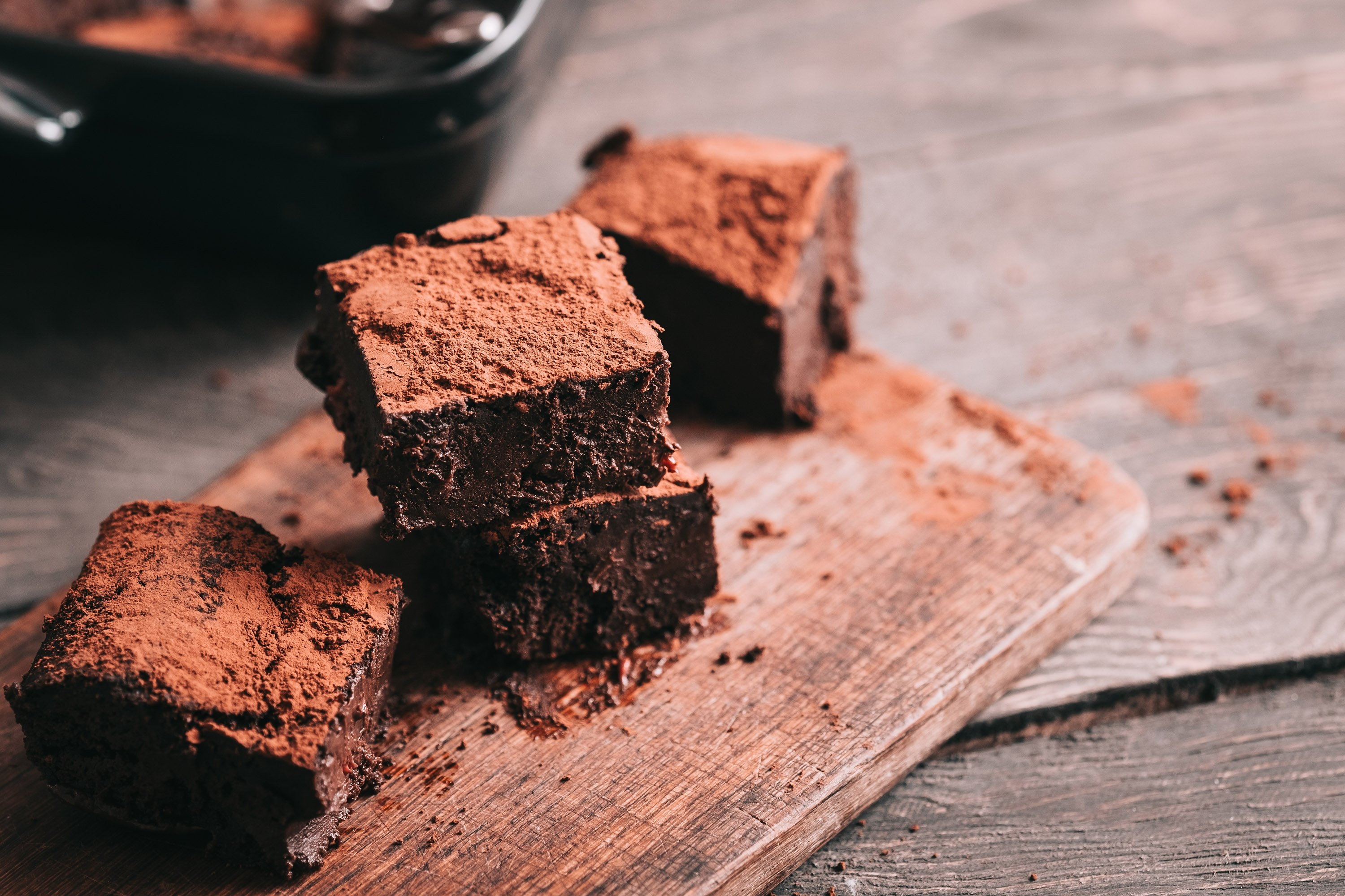 Dates give chocolate cake a moist and gooey texture. (Shutterstock Photo)