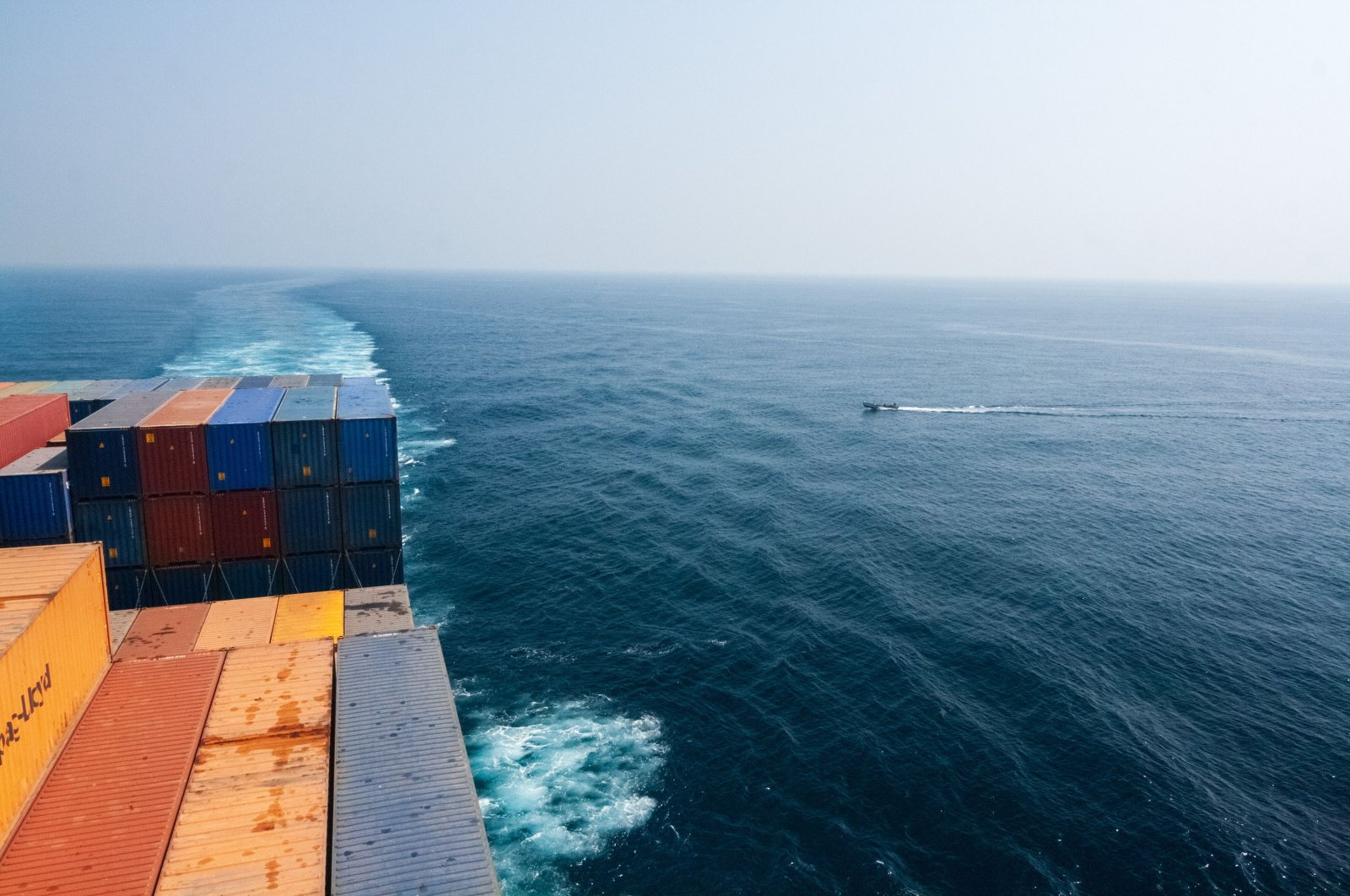Illustration of a probable act of piracy on a cargo ship off the Horn of Africa off the coast of Somalia in the Gulf of Aden, Yemen, on Jan. 11, 2017. (File photo by Camille Delbos / Art In All of Us / Corbis via Getty Images)