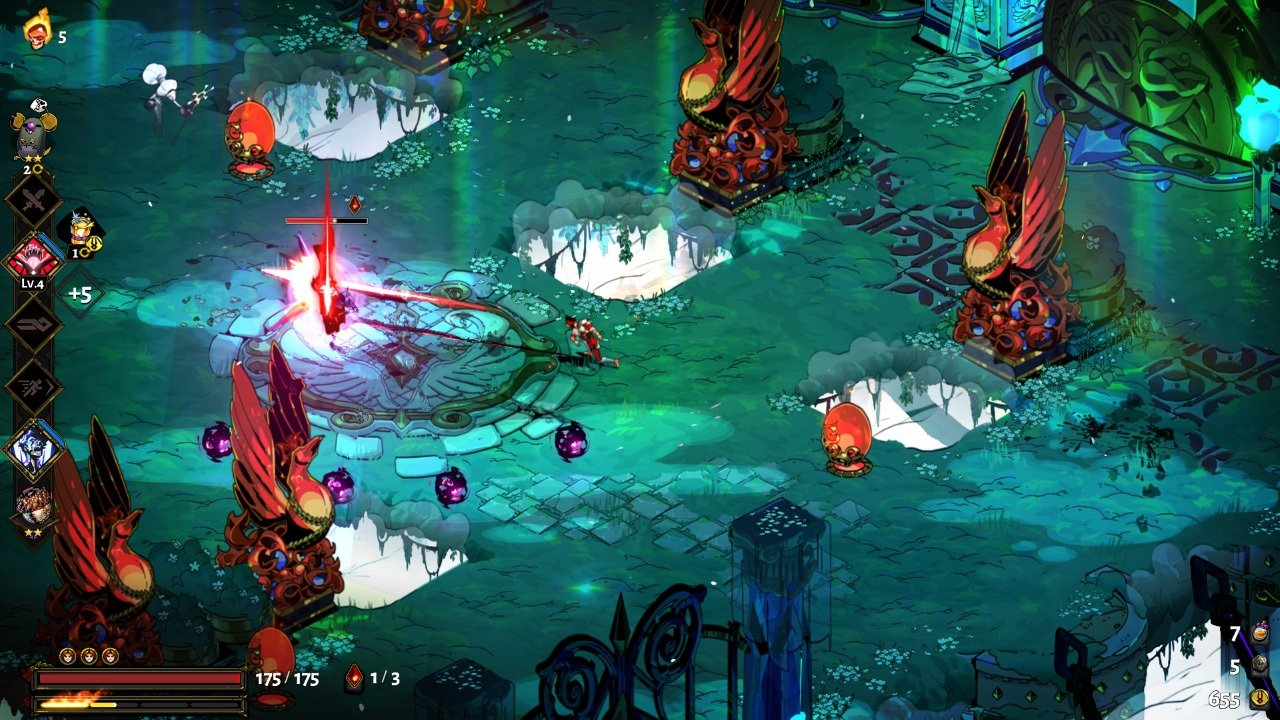 Hades is developed and published by Supergiant Games. (Credit: Supergiant Games)