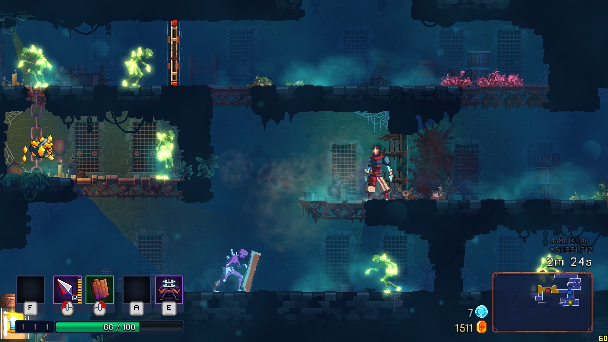 Dead Cells was developed and published by Motion Twin. (Credit: Motion Twin)