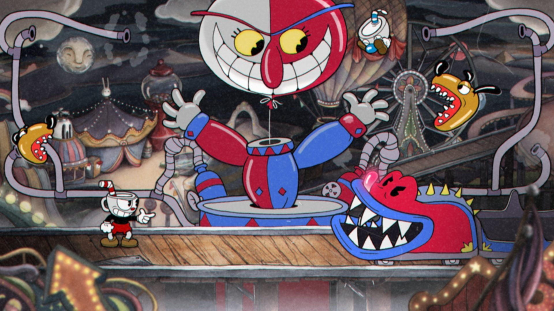 Cuphead was developed and published by Studio MDHR. (Credit: Studio MDHR)