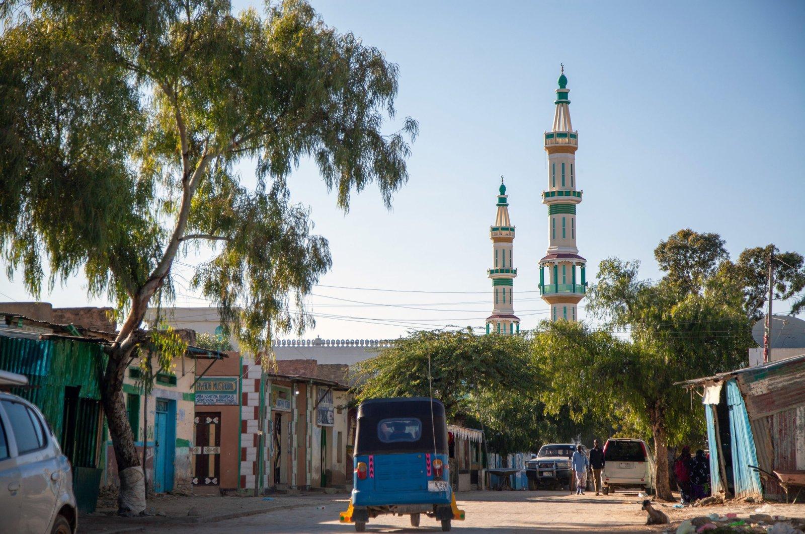 City streets during the coronavirus pandemic, Mogadishu, Somalia, Dec. 14, 2020. (Reuters Photo)