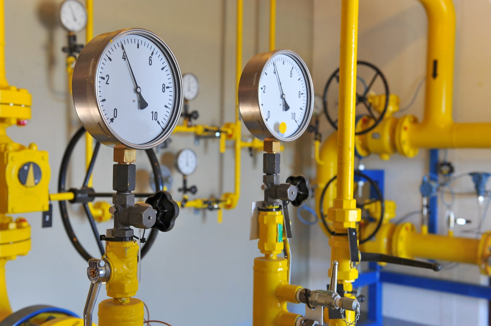 Turkey's natural gas consumption increased by 33% in November 2020. (Shutterstock Photo)