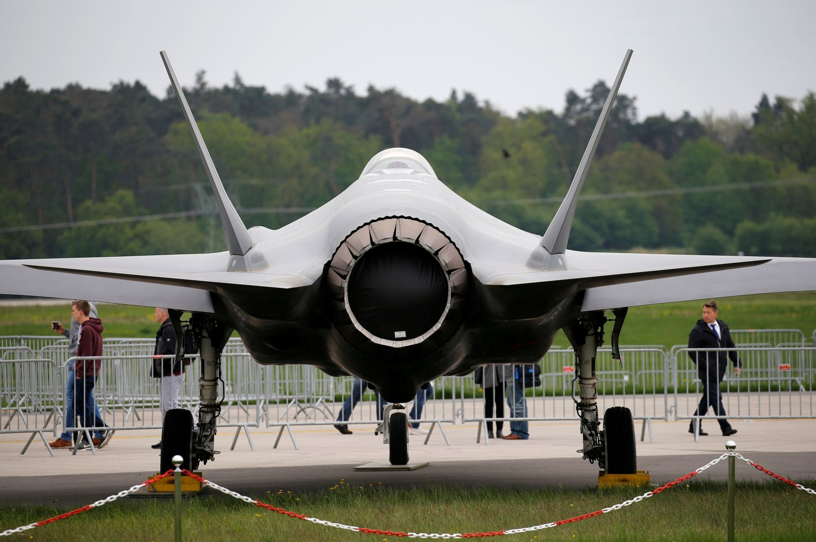 A Lockheed Martin F-35 aircraft is seen at the ILA Air Show in Berlin, Germany, April 25, 2018. (Reuters File Photo)