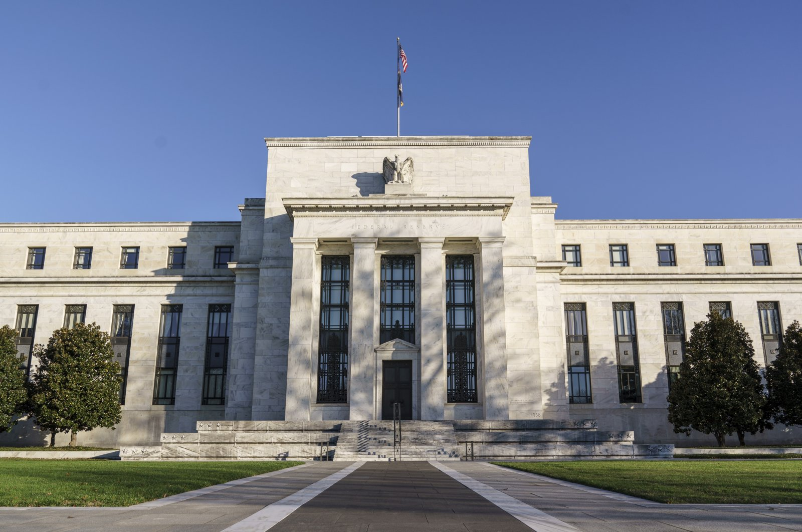 The Federal Reserve is seen in Washington, in this Nov. 16, 2020 file photo. (AP Photo)