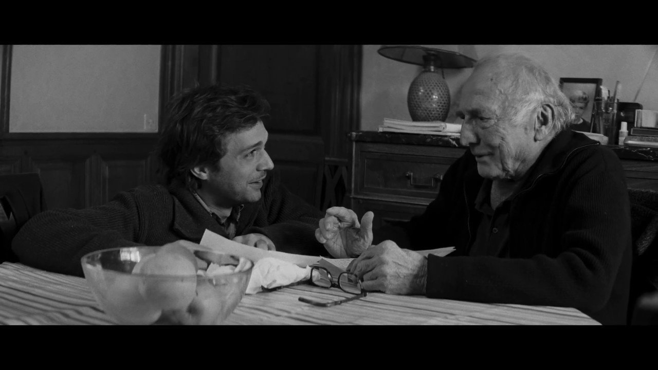 "A still shot from ""Le sel des larmes"" (""The Salt of Tears"") by Philippe Garrel."