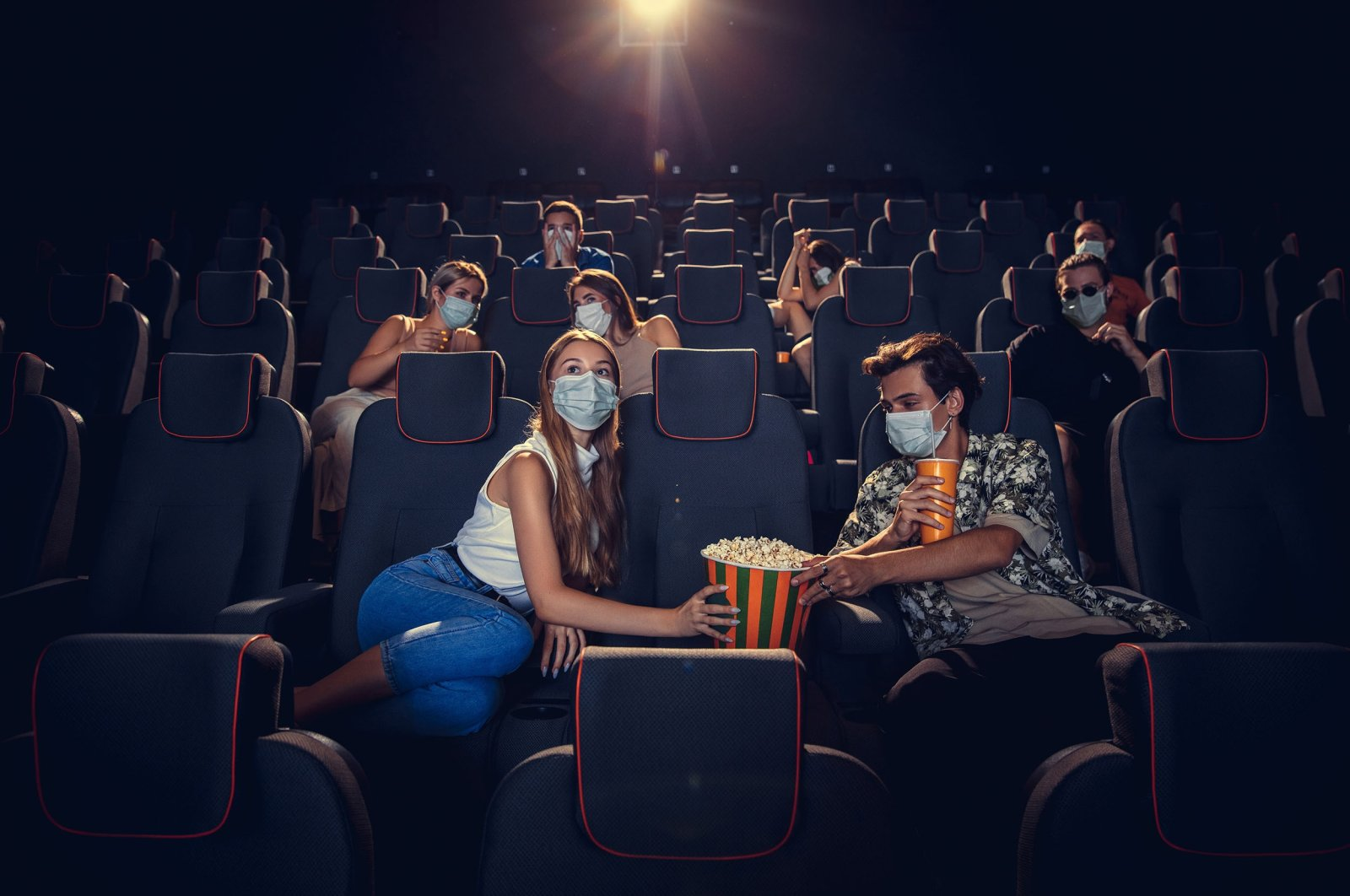 Movie theaters with 50 seats will now be able to receive government support. (Shutterstock Photo)