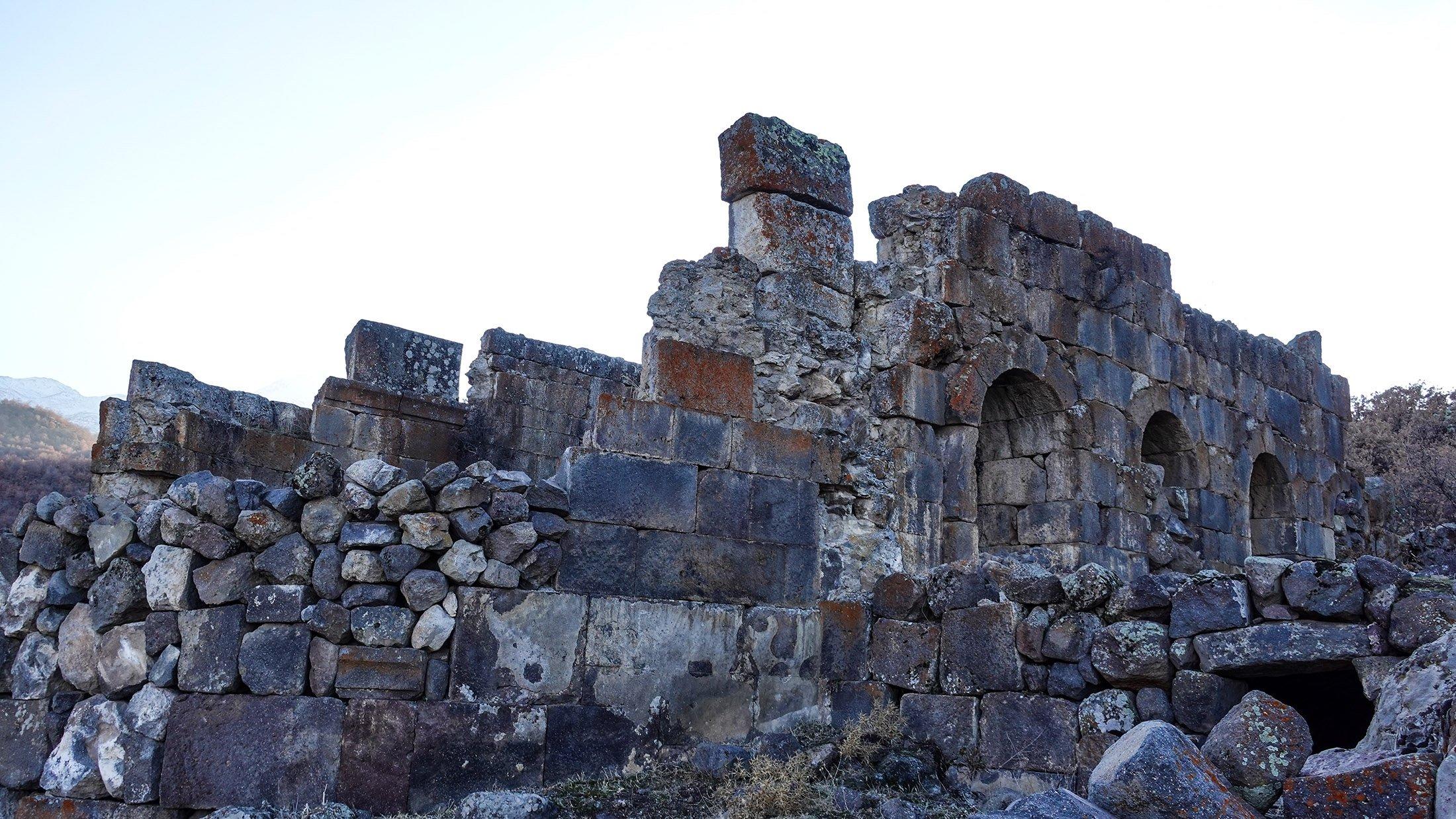 The Dark Church at Mokissos. (Photo by Argun Konuk)