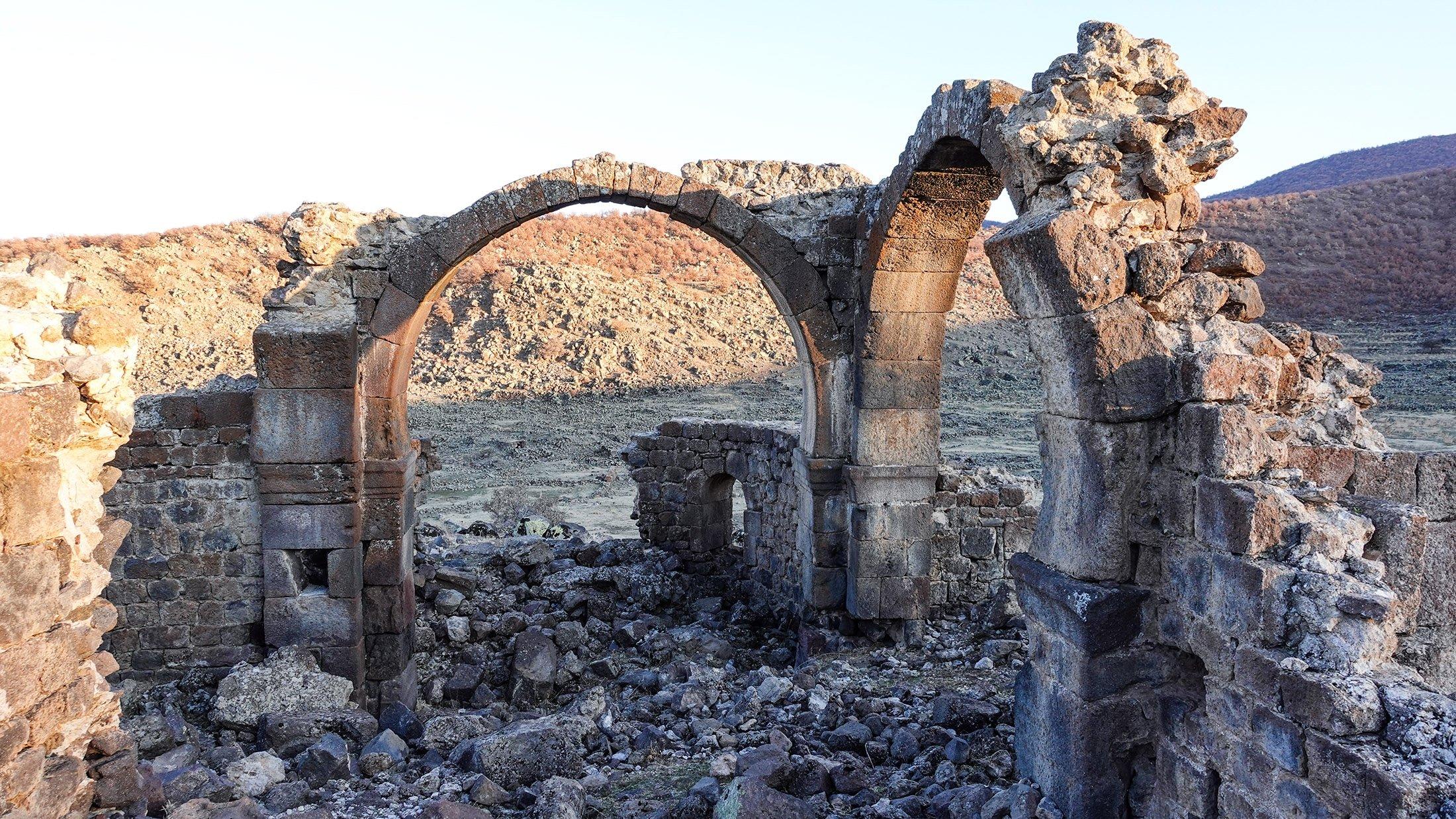 The Vaulted Church at Mokissos. (Photo by Argun Konuk)
