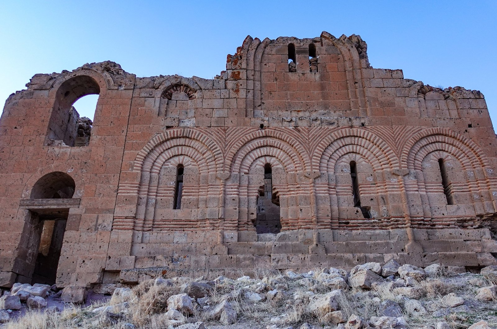 The Bell Church is one of the main attractions at the ancient city of Mokissos in Aksaray province, central Turkey. (Photo by Argun Konuk)