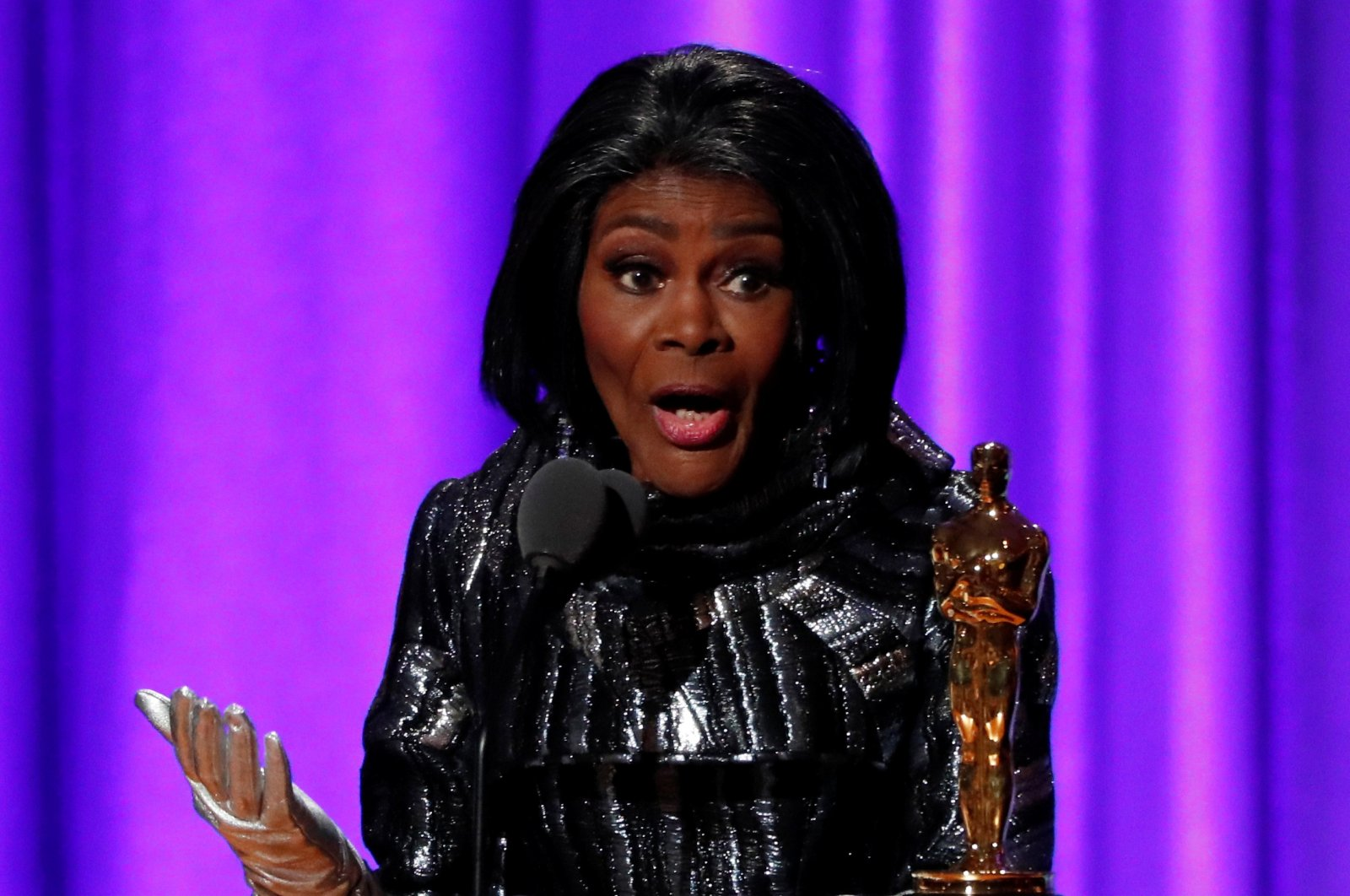 Cicely Tyson accepts her Honorary Academy Award, Los Angeles, California, U.S., Nov. 18, 2018. (Reuters Photo)
