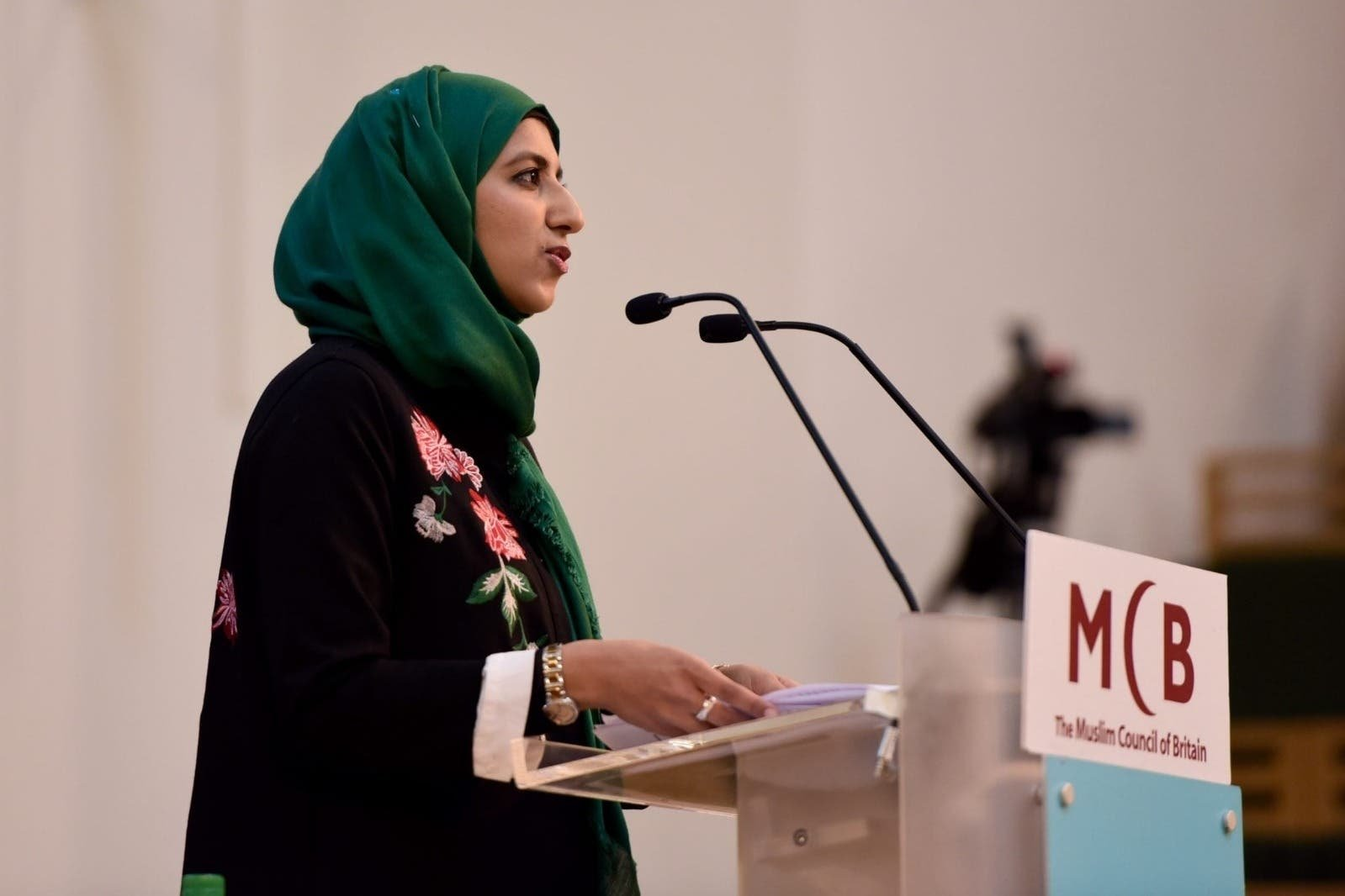Newly elected Secretary-General of the Muslim Council of Britain Zara Mohammed (MCB Photo)