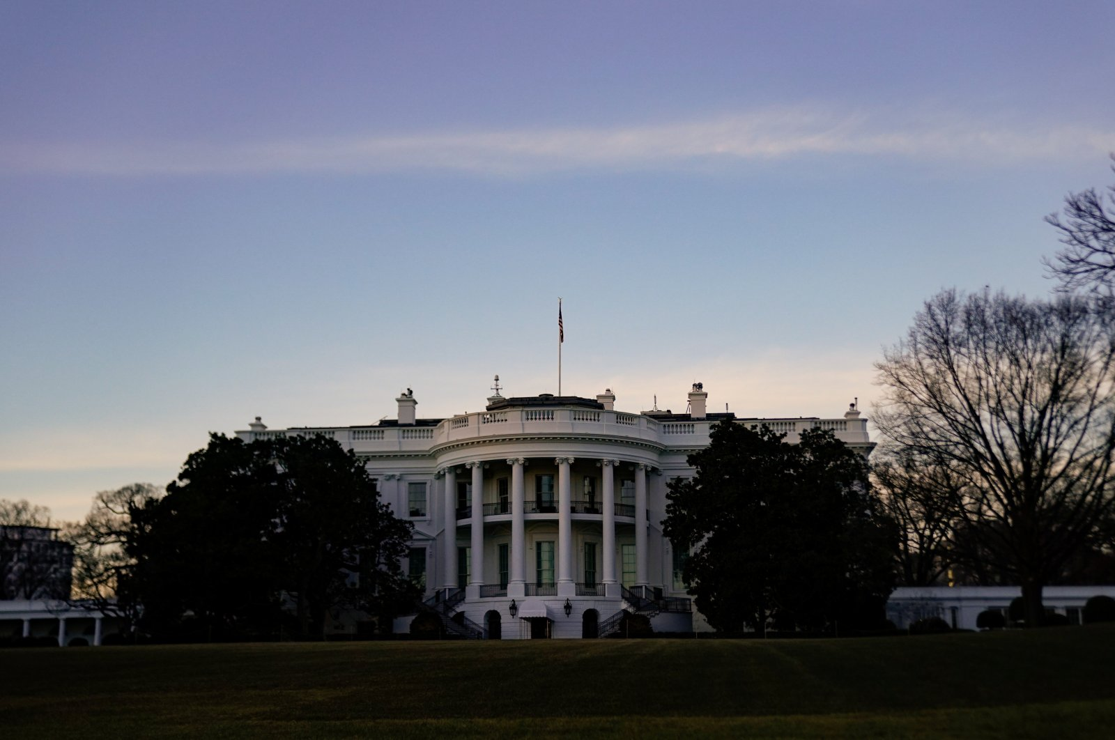 The White House pictured during U.S. President Joe Biden's second week in office, Washington, D.C., the U.S., Jan. 30, 2021. (Reuters Photo)