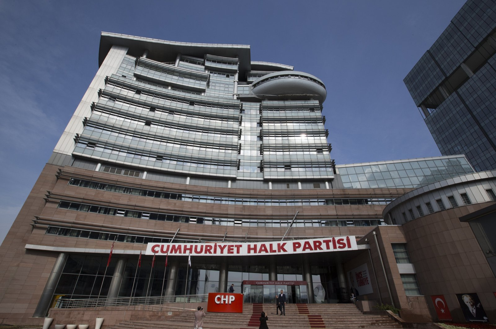 The building of CHP headquarters in Ankara is seen in this file photo taken on Feb. 18, 2019 (AA Photo)