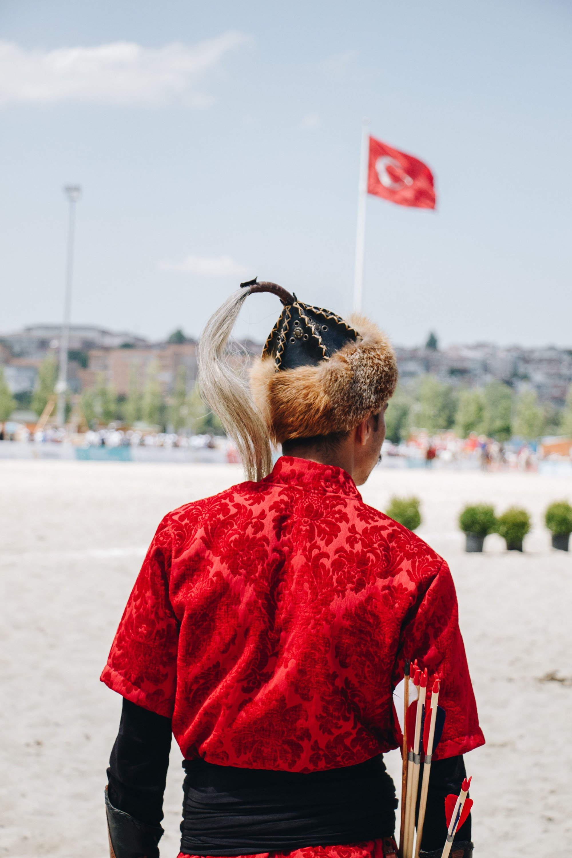 Turks used to wear traditional hats called