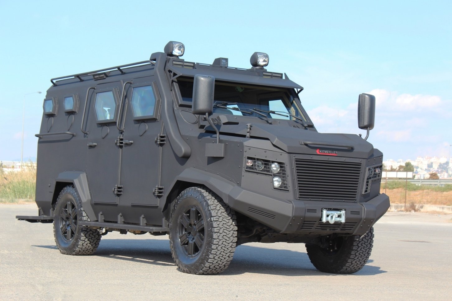 Katmerciler's new armored personnel carrier Khan is seen in this photo provided on Feb. 1, 2021. (Courtesy of Katmerciler)