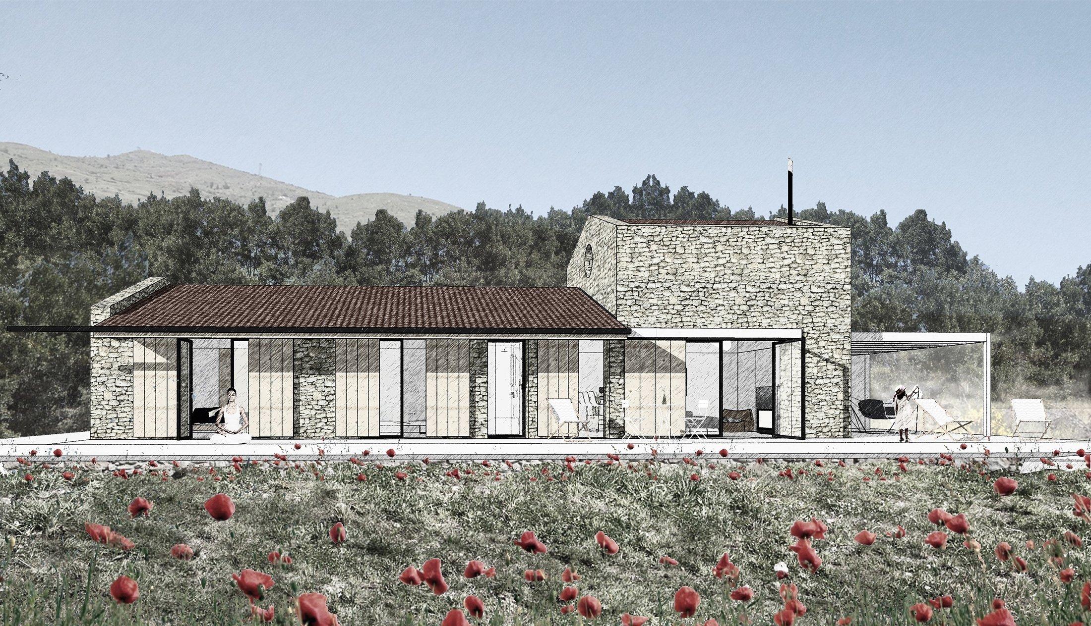 All houses have been designed to be detached at Nefes Assos. (Photo courtesy of Önder Halisdemir/Nefes Assos)