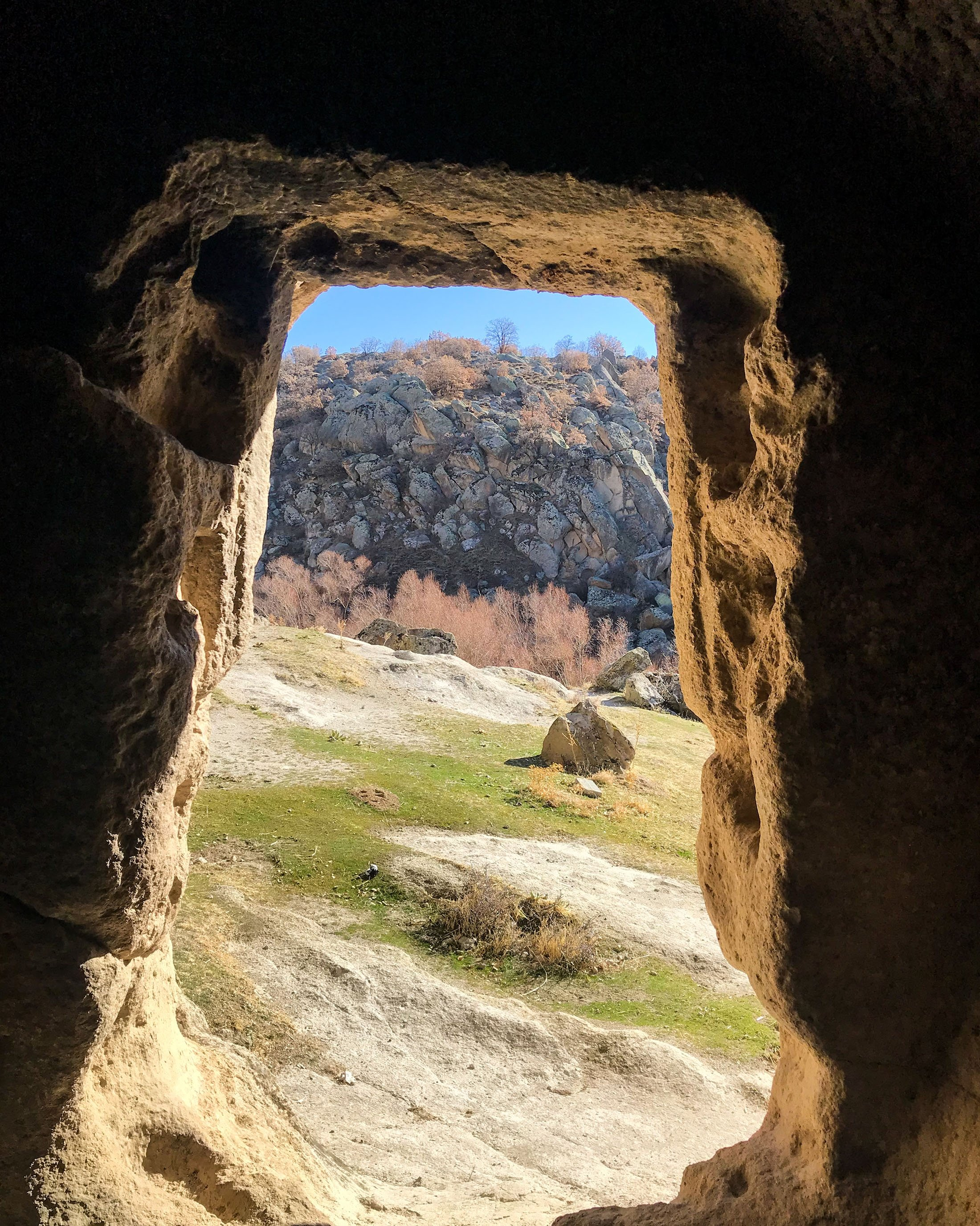 A view of Monastery Valley from one of the many rock dwellings in Güzelyurt, Aksaray, central Turkey. (Photo by Argun Konuk)