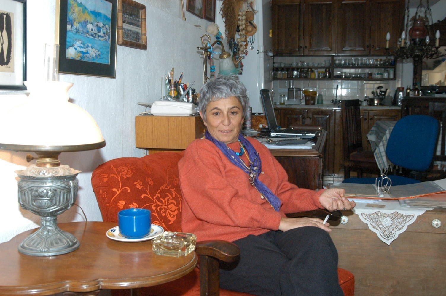 Seda Arun, daughter of Özdemir Asaf. (Archive Photo)