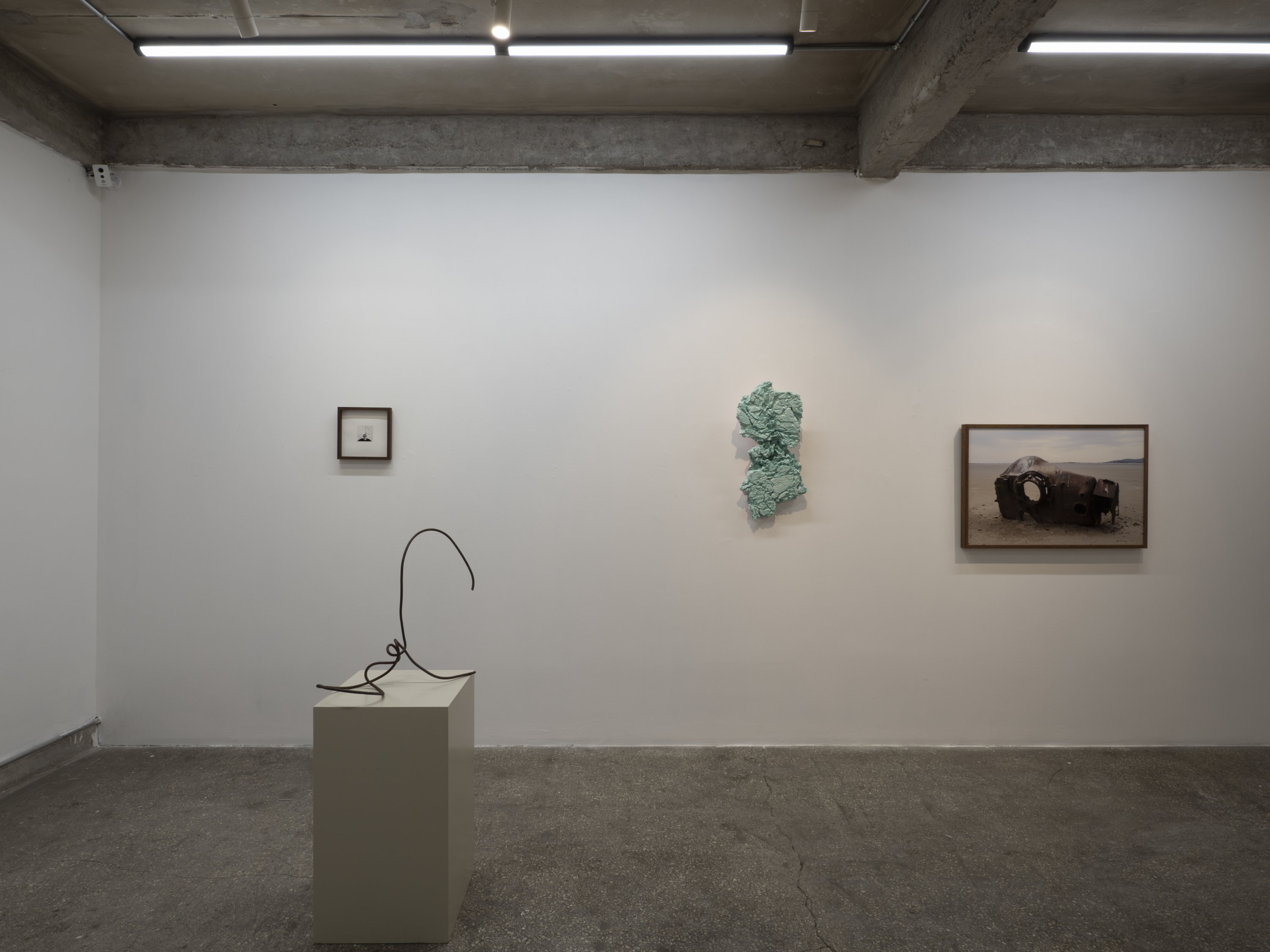 An installation view from