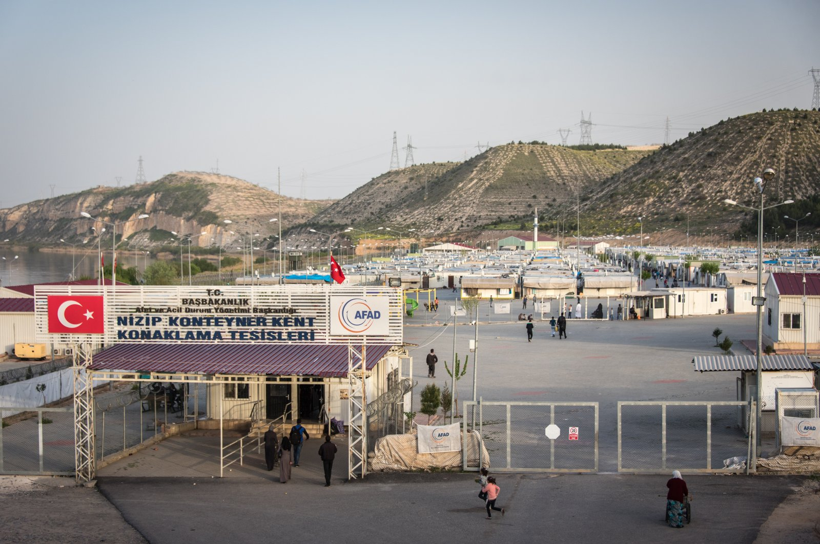 The general view of the Nizip refugee camp for displaced Syrians, Gaziantep, southeastern Turkey, Aug. 7, 2017. (Photo by Getty Images)