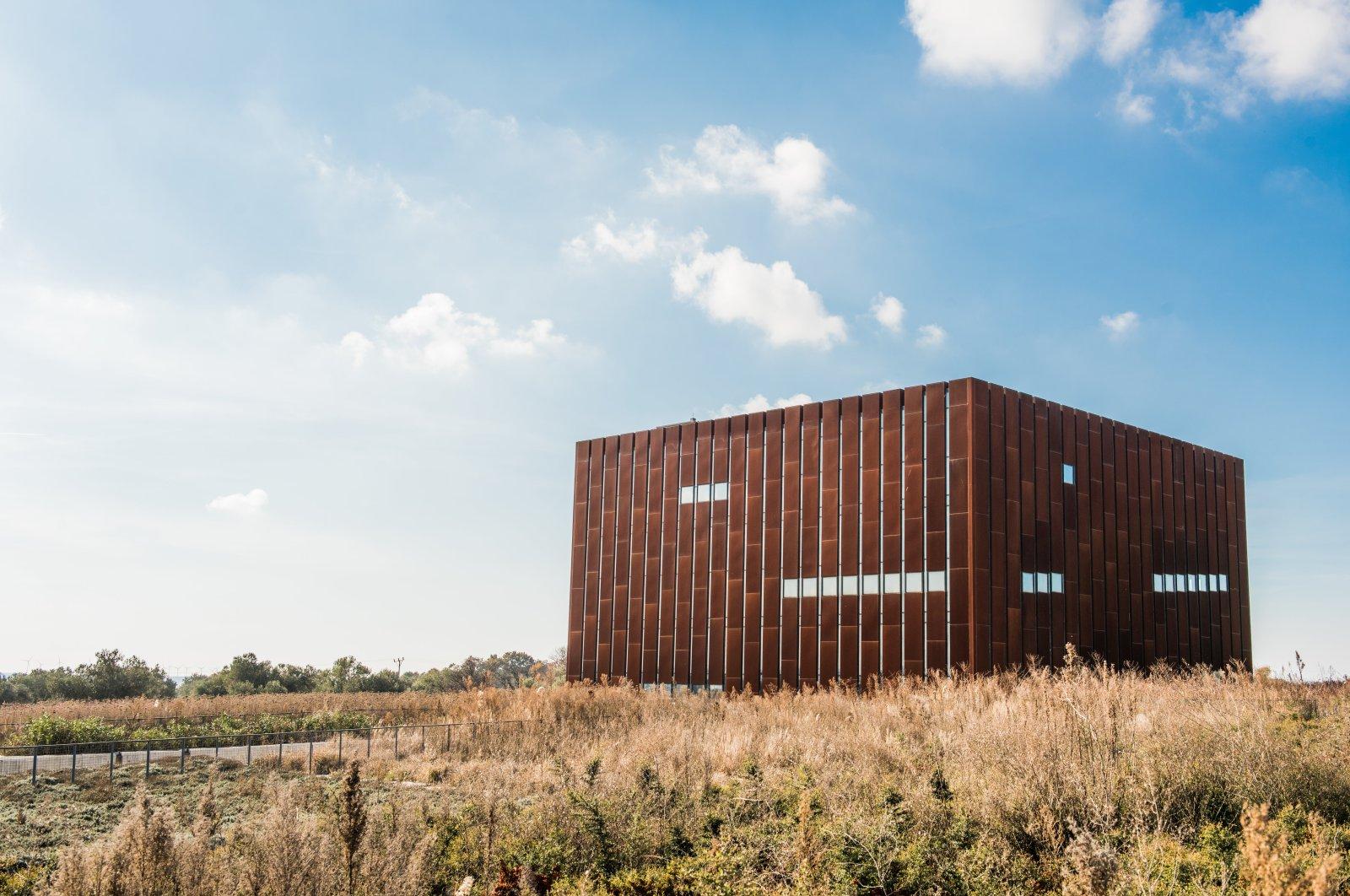 The exterior of the Troy Museum, Çanakkale, northwestern Turkey, Dec. 18, 2019. (Photo by Murat Şengül)
