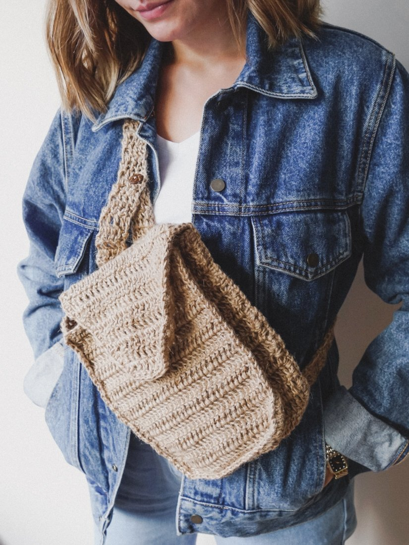 A knitted handbag from This is Mana's collections. (Photo courtesy of This is Mana)(Photo courtesy of This is Mana)