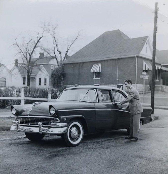 Dr. Nevzat Turkman, La Crosse, Wisconsin, the U.S., 1954. (Photo from Turkman's Family Album)