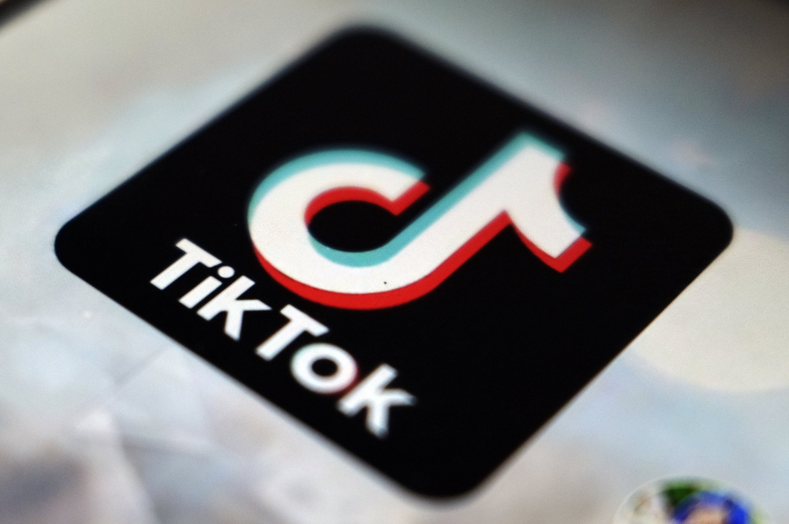 A view of the TikTok app logo, Tokyo, Japan, Sept. 28, 2020. (AP Photo)