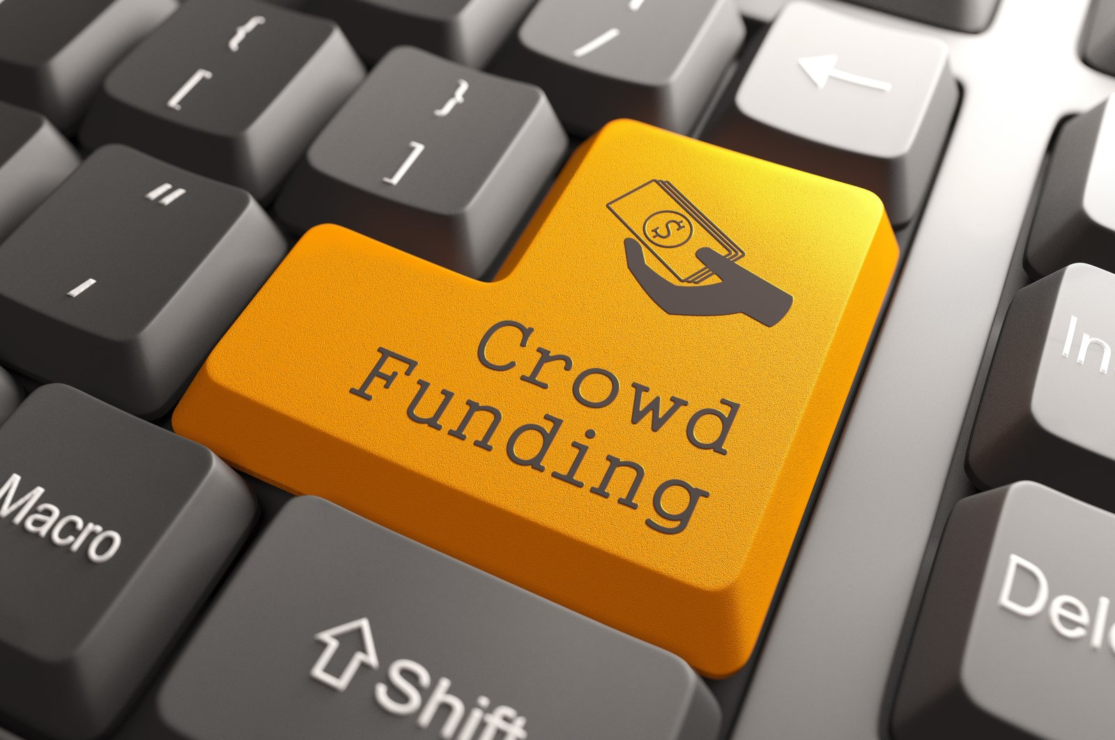 Currently, there are more than 2,000 crowdfunding platforms in the world, 10% of which are based in the U.S. (Shutterstock Photo)