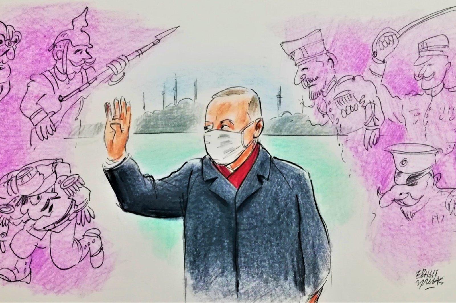 Illustration by Erhan Yalvaç