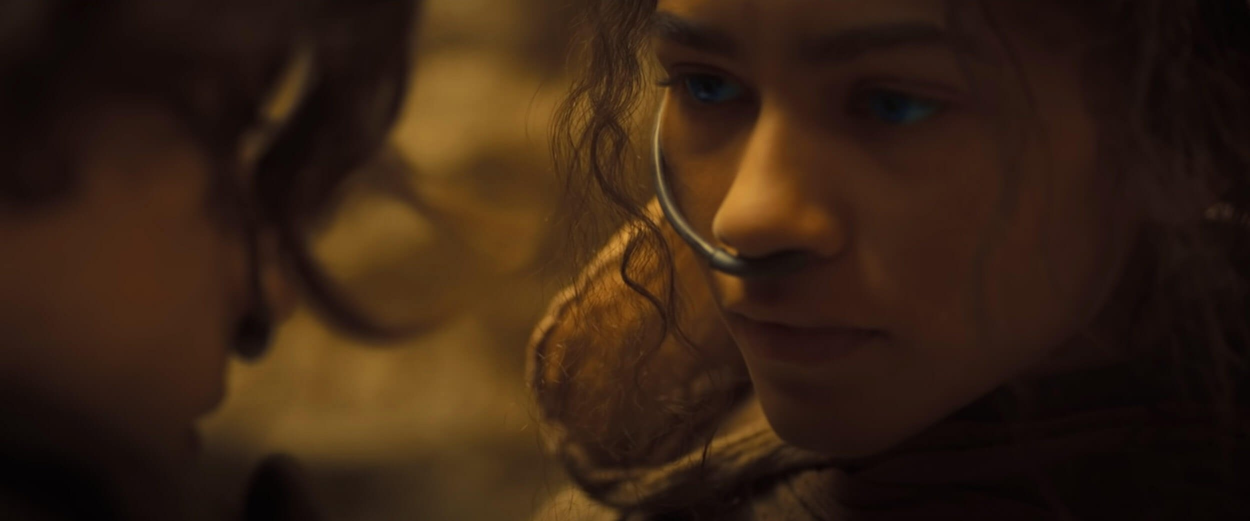 A screengrab from a trailer shows Zendaya in