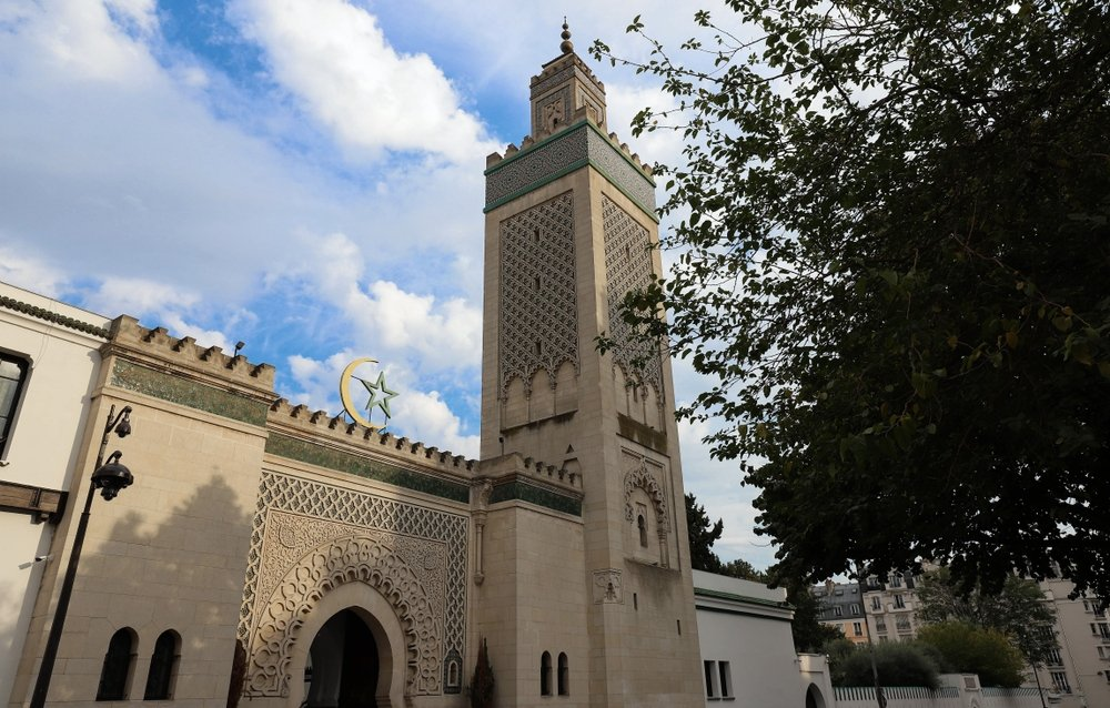 A general view of theGreat Mosque of Paris, France. (Shutterstock Photo)