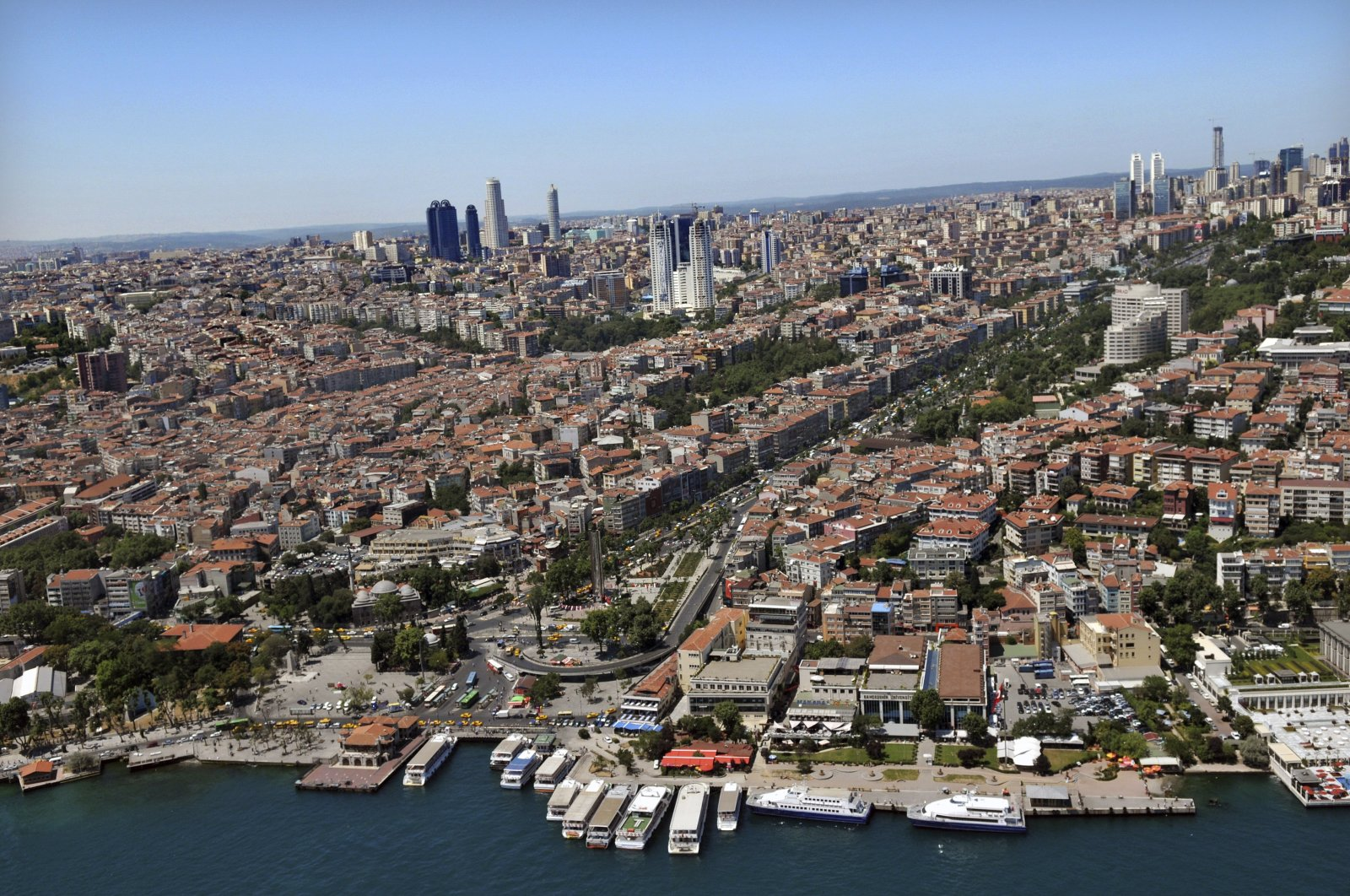 An aerial view of Istanbul, Dec. 29, 2020. (Sabah File Photo)
