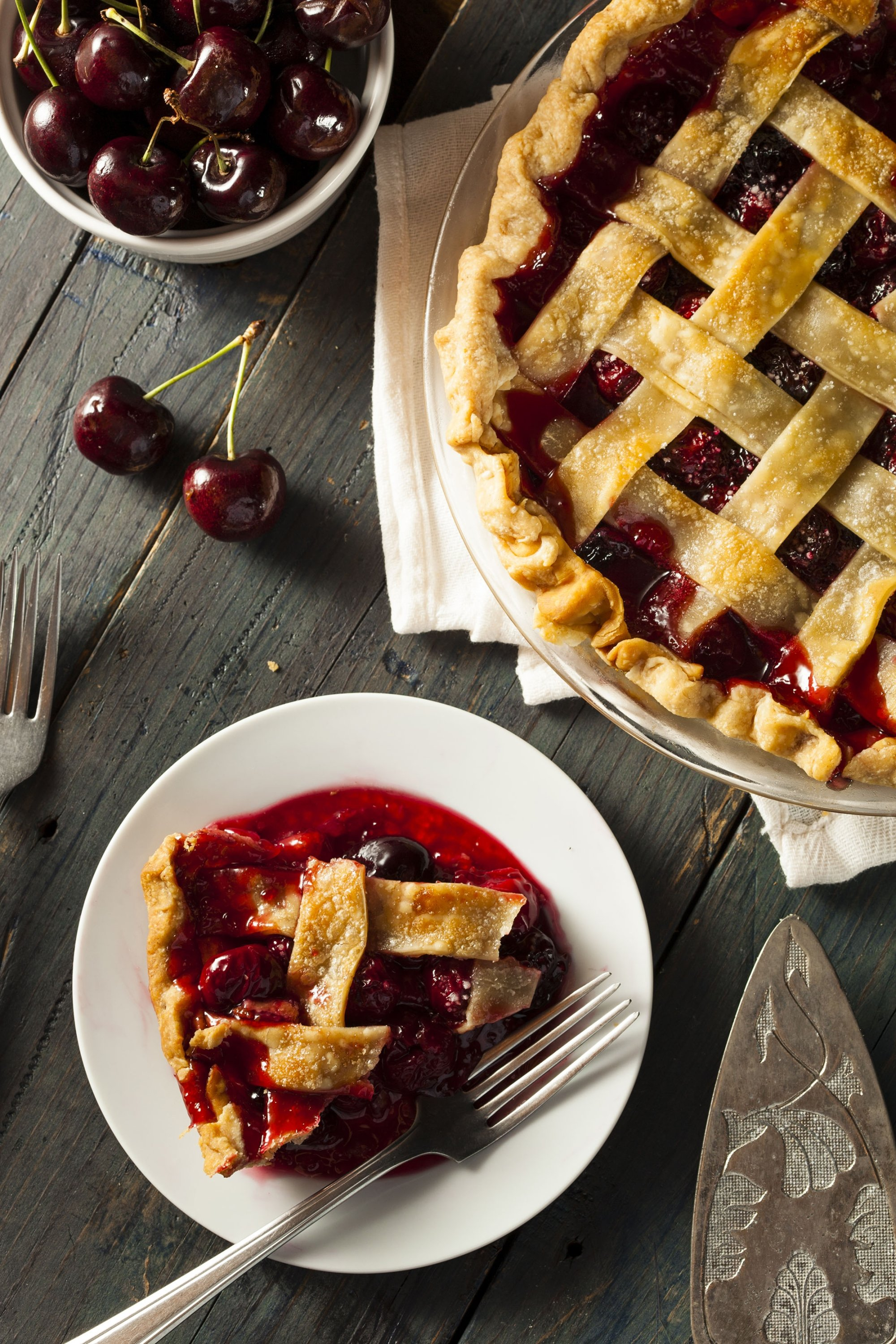 When in doubt, bake your cherries into a classic pie. (Shutterstock Photo)